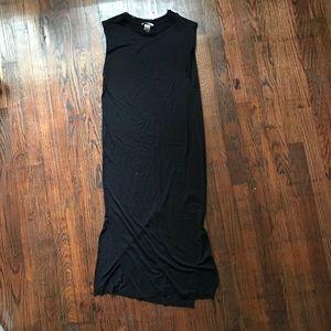 H&M basics midi straight dress
